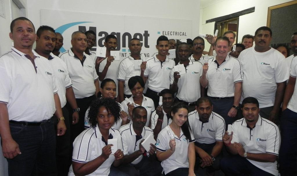 Magnet supports Earth Hour 2013