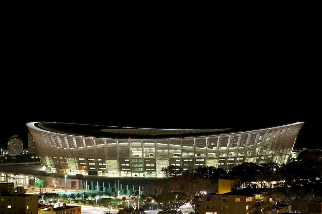 Osram LEDs lights up the Cape Town Stadium