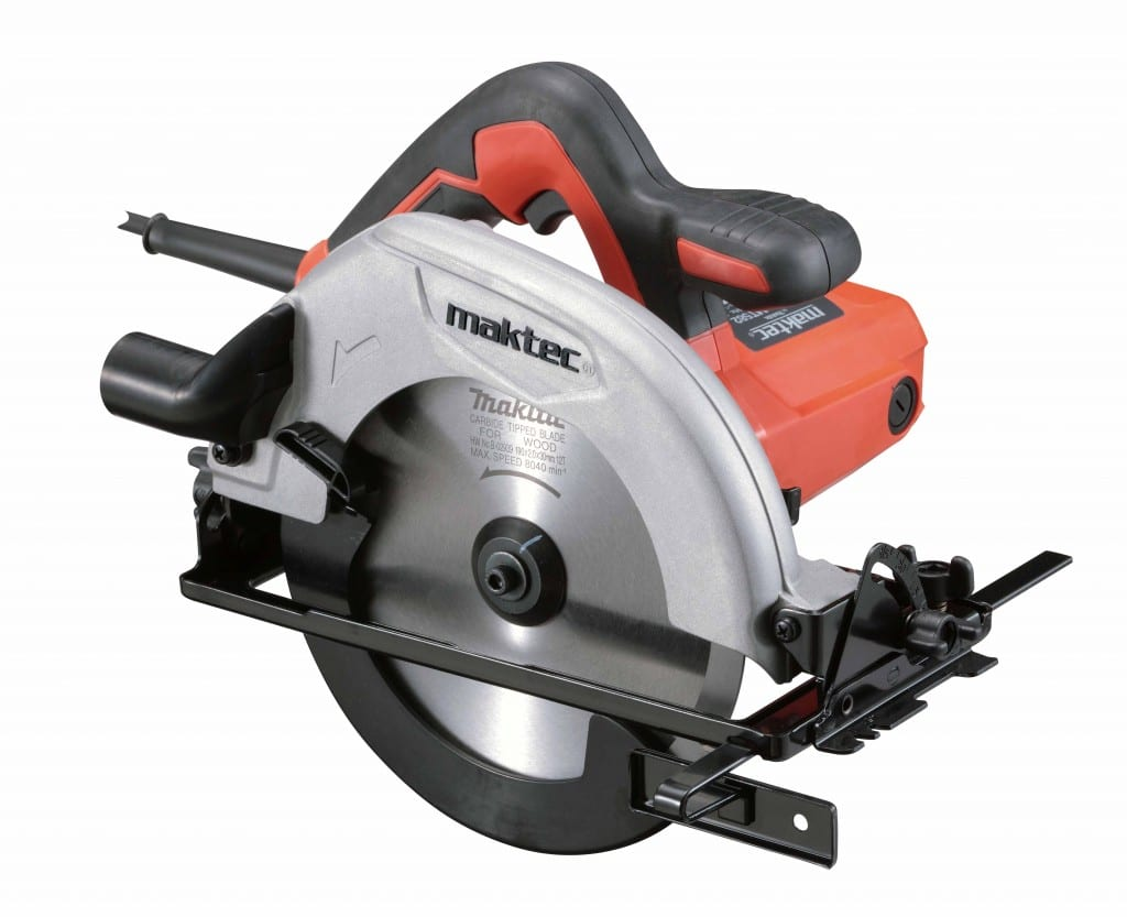 The new circular saw from Maktec