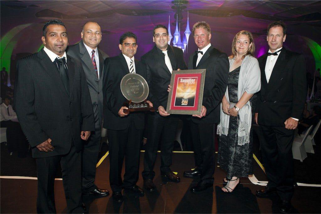 Supplier of the Year for a 5th consecutive time - Medal Paints