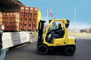 Hyster diesel and LPG forklifts are available from Barloworld Handling