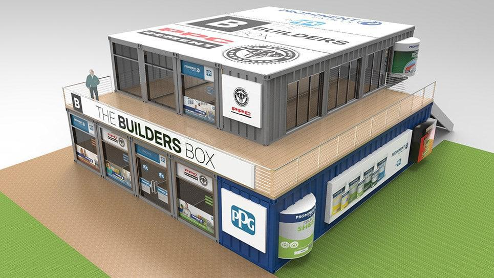 BuildersBox, a double-story specialised paint store