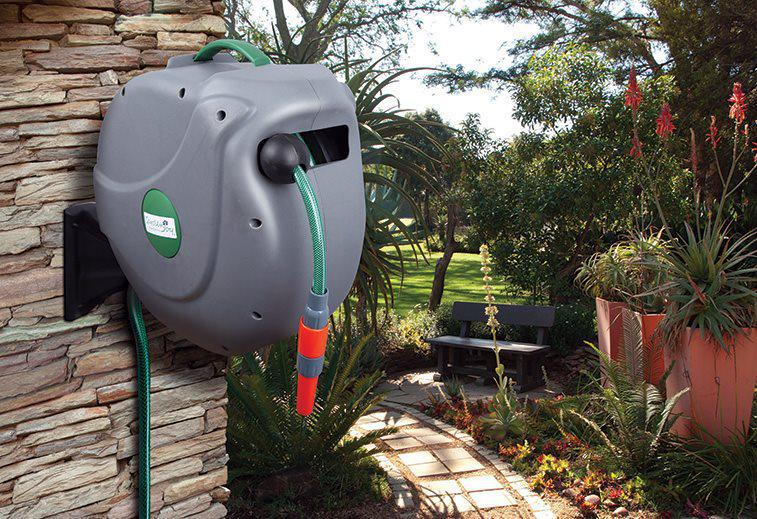 The Garden-Joy Auto Rewind Hose Reel