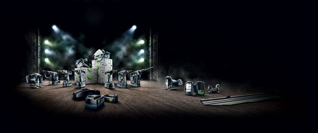 Festool Airstream charging system