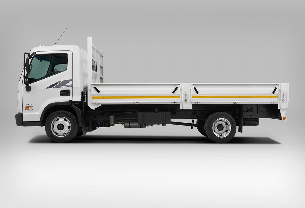 Hyundai Mighty EX8 truck