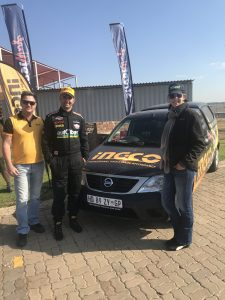 Ingco tools partner with race driver