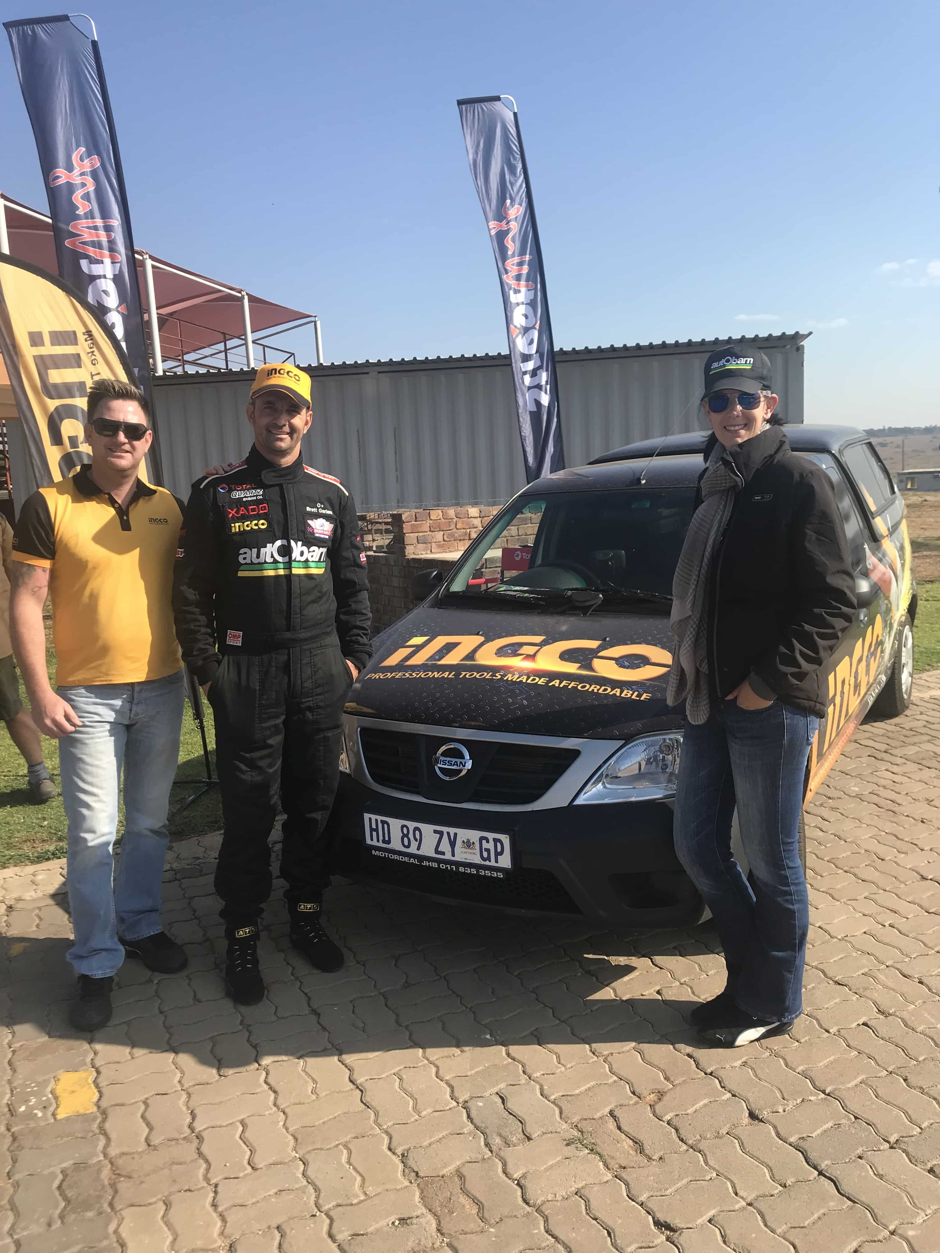 Ingco partner with SuperHatch race driver - DIY Trade News